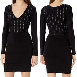 NWT Guess  Long Sleeve Little Black Dress